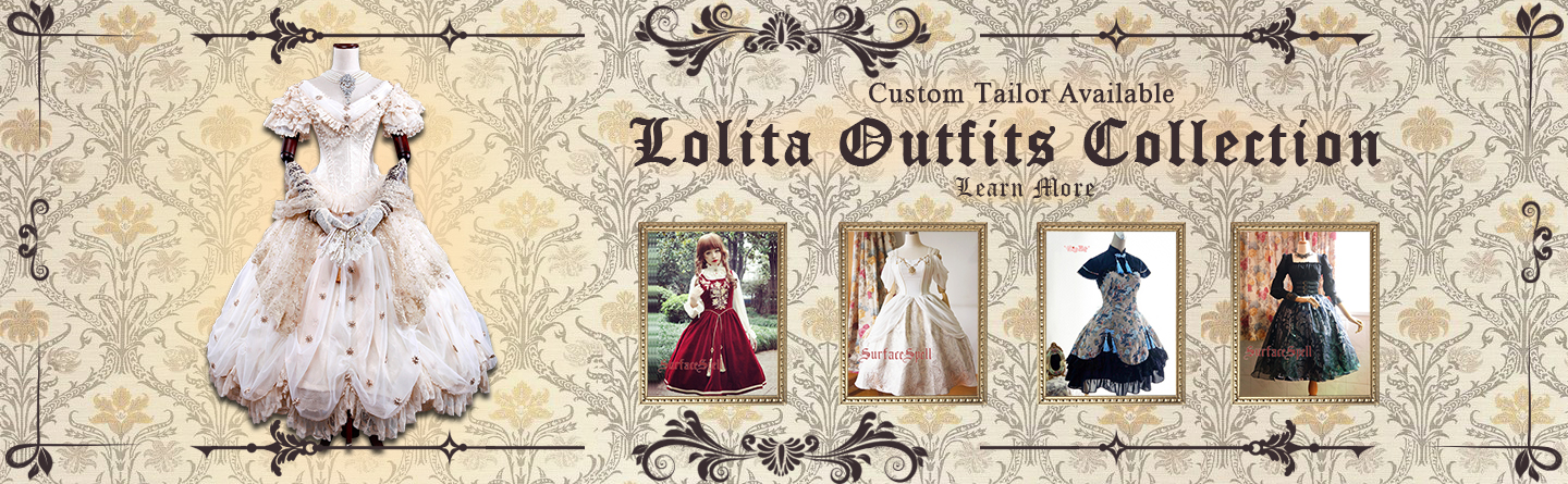 Customizable Lolita Dresses Collection