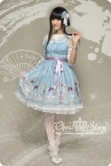 Chess Story -Fairy In the Air- Lolita Jumper Skirt
