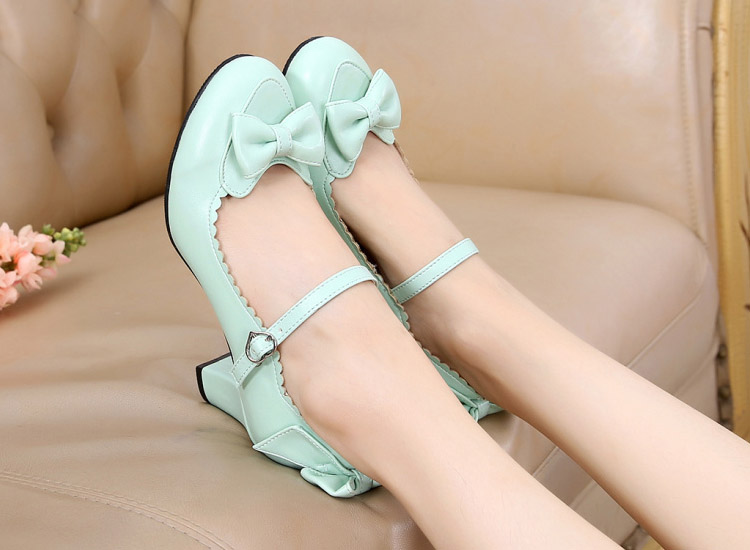 Light Green & 6cm heel