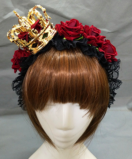 Gold Crown (without veil)