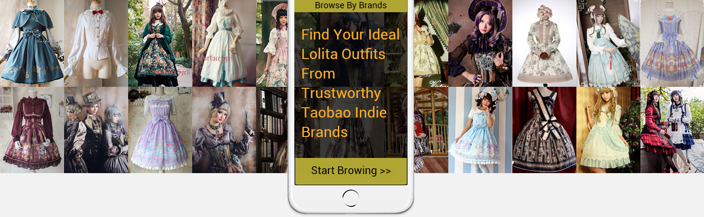 Browse Lolita Outfits By Brands