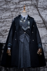 Your Highness -The Vow- Military Gothic Ouji Lolita Cape