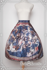 Krad Lanrete -The Twelve Constellations of the Zodiac- Vintage Classic Lolita Skirt