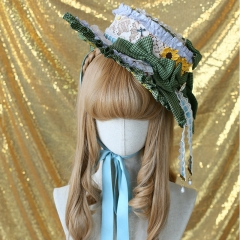 Classical Puppets -Romantic Field- Vintage Classic Lolita Hat