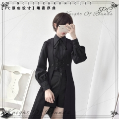 Princess Chronicles -Overture of the Night- Gothic Lolita Ouji Lolita Long Vest