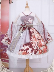 Long Ears and Sharp Ears Studio -Chiyan Kylin- Qi Lolita OP Dress