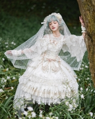 The Nine Songs -In the Bright Moonlight- Lolita Dress and Match Accessories