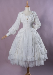 Fantastic Wind -The Elegant Lady- Vintage Classic Lolita OP Dress