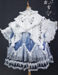 Bramble Rose -An Ode to Winter of Four Seasons- Lolita Cape and Accessories