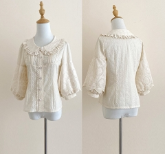Forest Song -To My Dear Teleisha- Vintage Classic Lolita Blouse