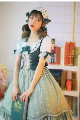 Alpine Maiden Vintage Classic Lolita OP Dress