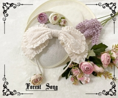 Forest Song -To My Dear Teleisha- Vintage Classic Lolita Headbow