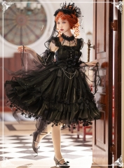 SanMuOu -The Song of the Moonlight- Vintage Classic Lolita JSK